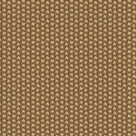 Fabric - Windermere Petite Floral - Dark Khaki
