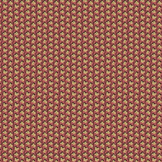 Fabric - Windermere Petite Floral - Burgundy
