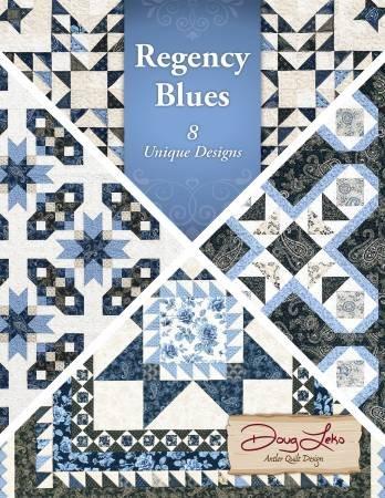 Book - Regency Blues 8 Unique Designs