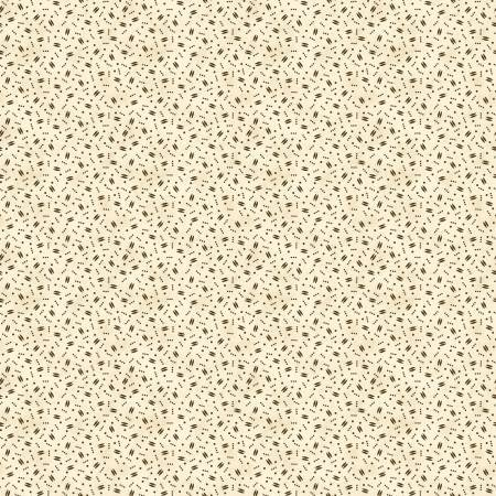 Fabric - 19th Century Shirting - Confetti Brown