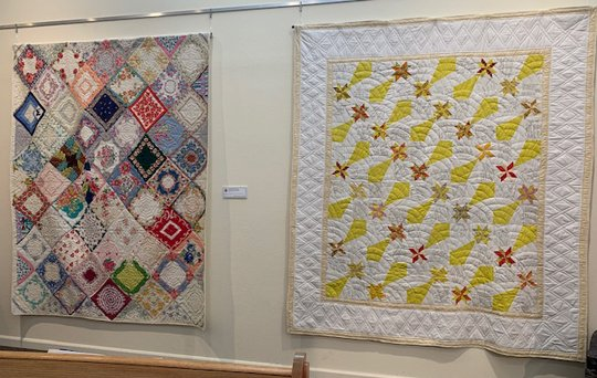 Eugenia Mitchell Handerkerchief and Signature Quilts