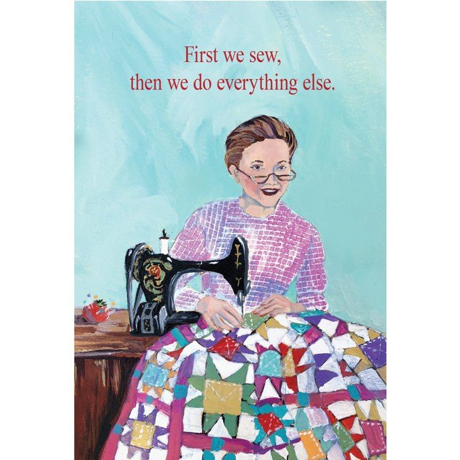 SS Card - Friendship - First We Sew - F239