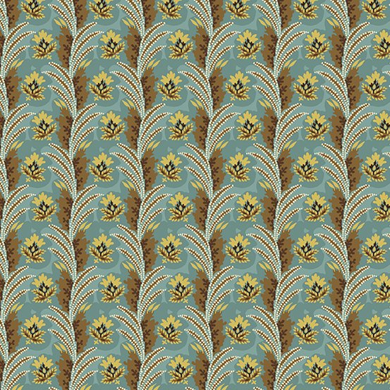 Fabric - Windermere Fronds - Teal