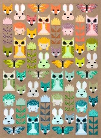 Kit - Fancy Forest 67 x 91 in.