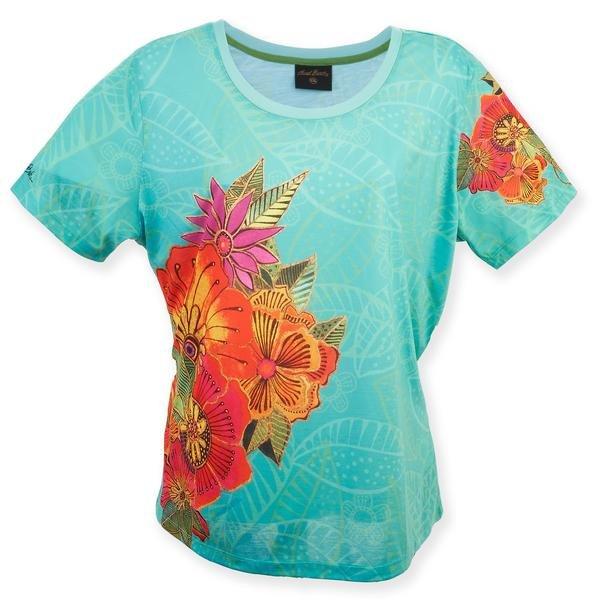 LB T-shirt - Flora teal