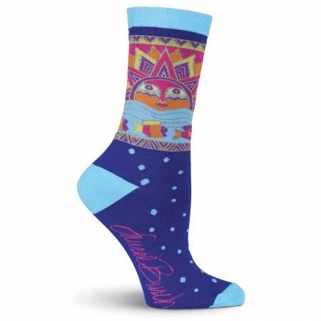 Socks - Sun Fish Blue