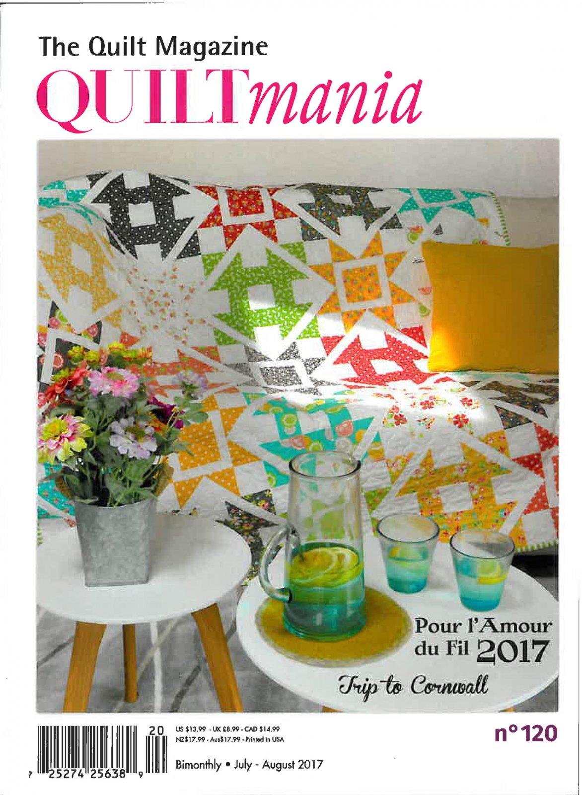 Quiltmania Magazine #122 - Nov/Dec 2017