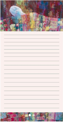 Quilted Women Notepad_Celebration
