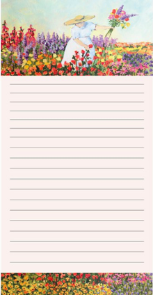 Quilted Women Notepad_Flower Farmer