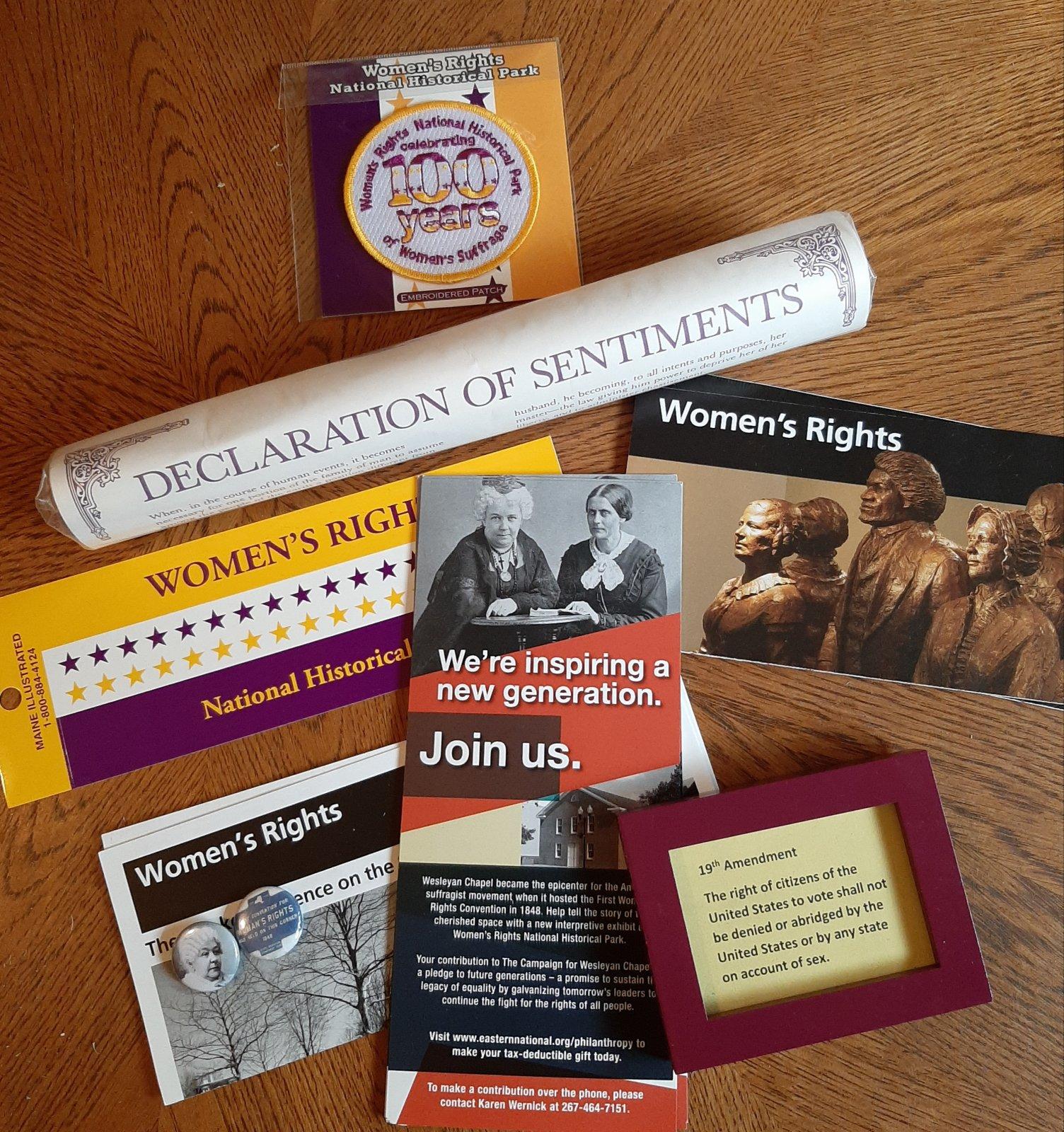 Suffrage packet