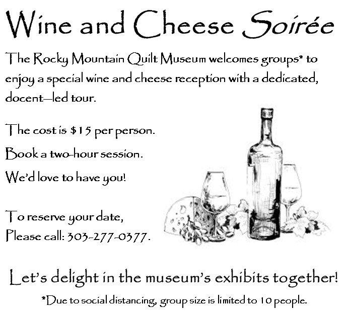 RMQM Wine & Cheese Soires
