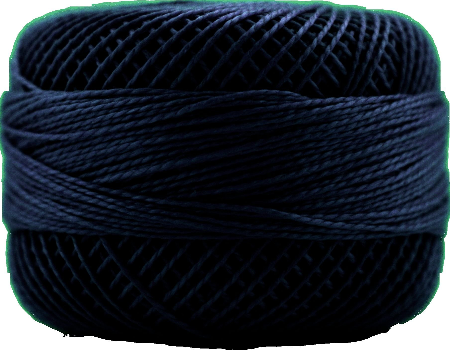 Finca Perle Cotton- Size 8 Very Dark Navy