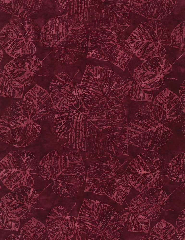 Tonga Batiks  B9533-Fossil Leaf
