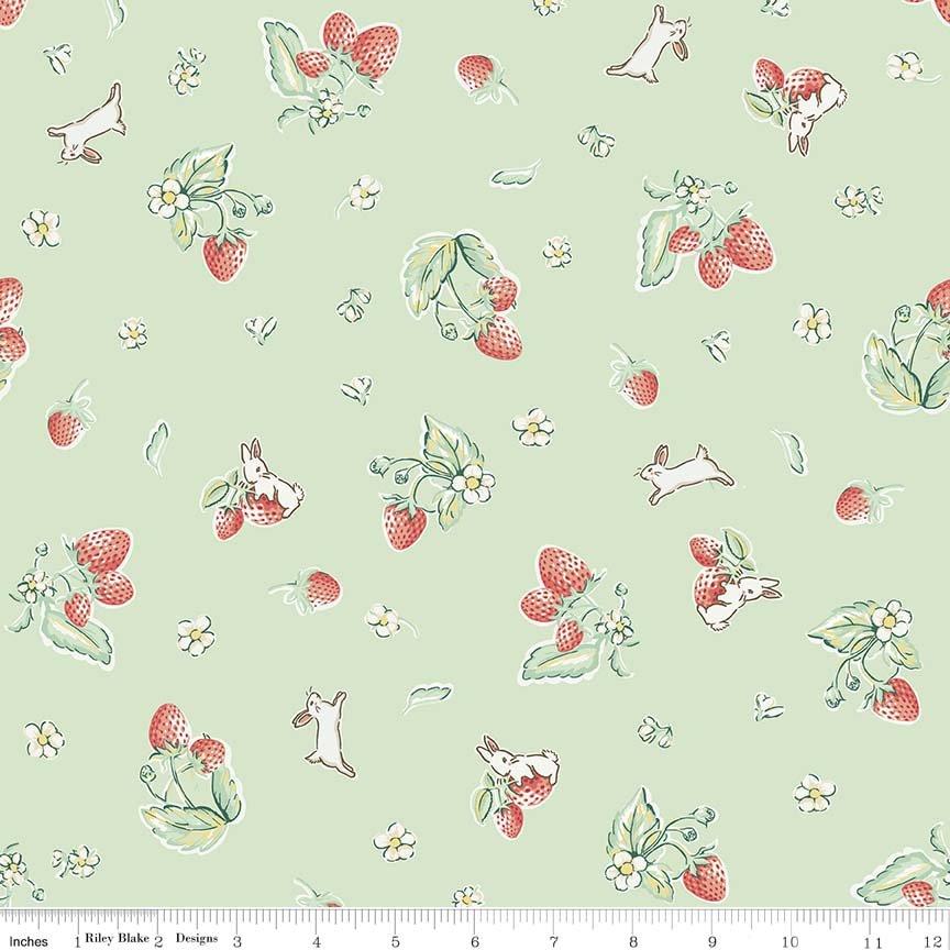 Bunnies & Cream  C6021-MINT