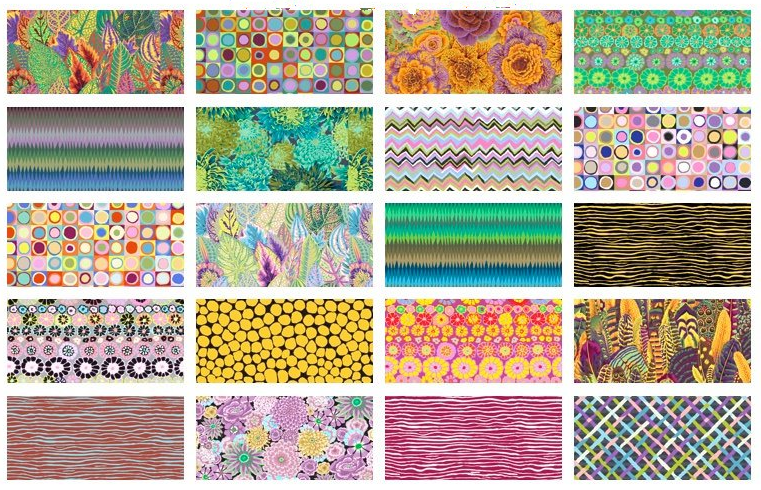 Kaffe Fassett Collective- Day 10 Charm Pack