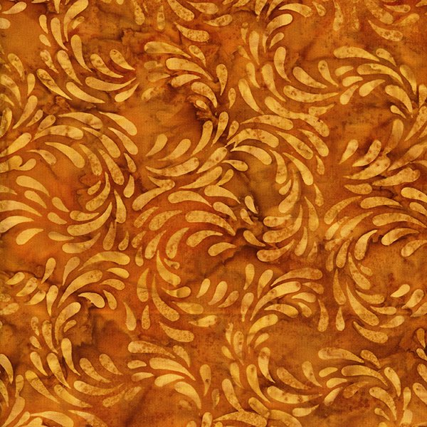 Rayon Batik- Golden Halo