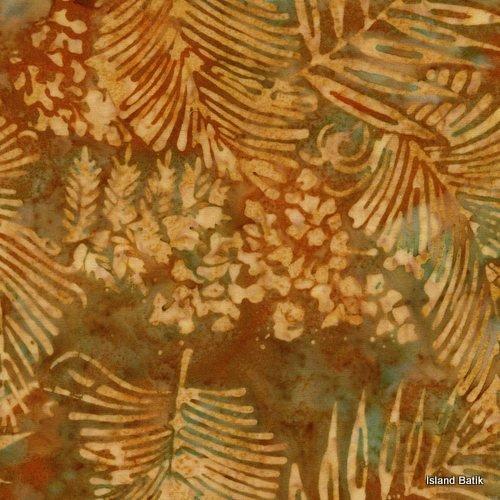 Rayon Batik- Harvest Palm