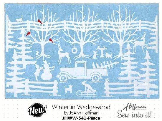 Winter in Wedgewood Kit