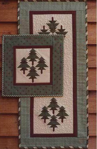 The Pines Mini Quilt/Table Runner