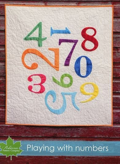 Playing with Numbers Quilt Kit