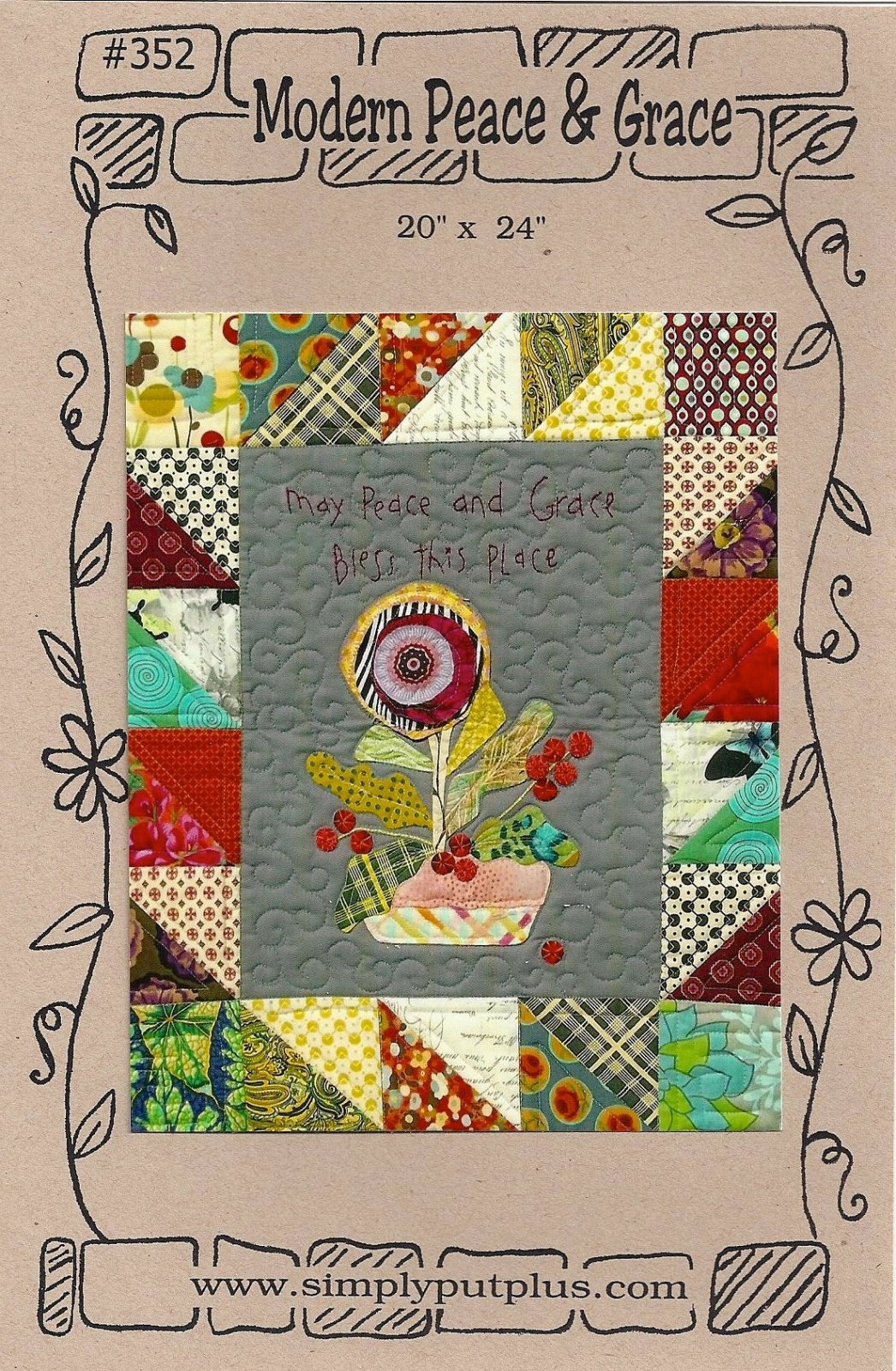 Peace and Grace Mini Quilt