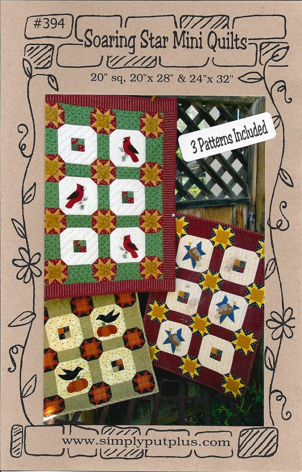Soaring Star Mini Quilt Pattern