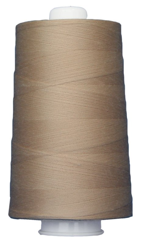#3011 BUFF Omni Thread. Poly-wrapped poly core. 6000 yds.
