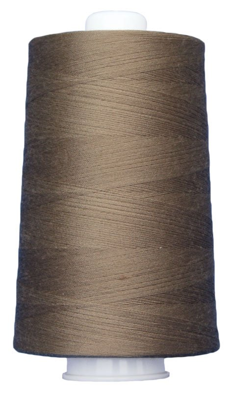 #3012 DARK TAN Omni Thread. Poly-wrapped poly core. 6000 yds.