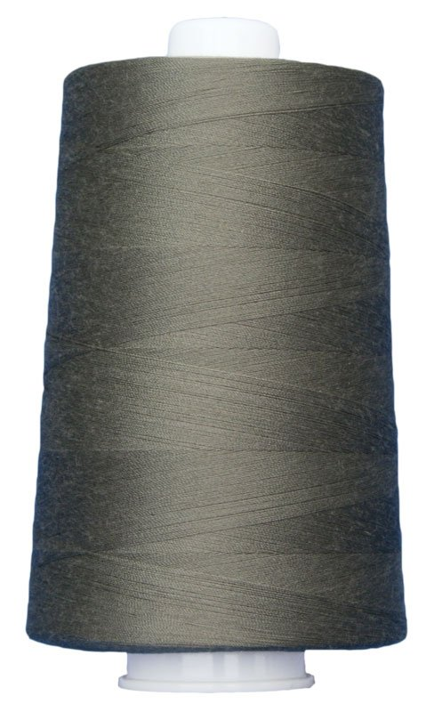 #3020 GRAY SLATE Omni Thread. Poly-wrapped poly core. 6000 yds.
