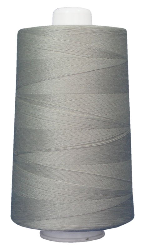 #3021 ASH GRAY Omni Thread. Poly-wrapped poly core. 6000 yds.
