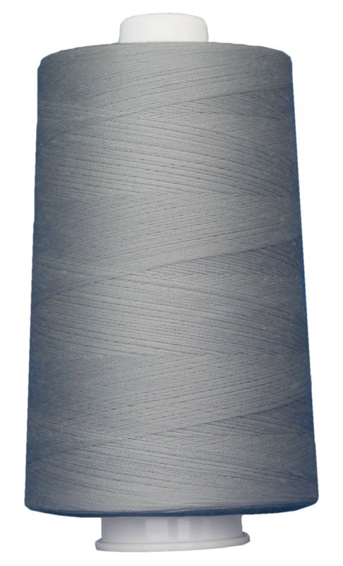 #3022 SILVER Omni Thread. Poly-wrapped poly core. 6000 yds.