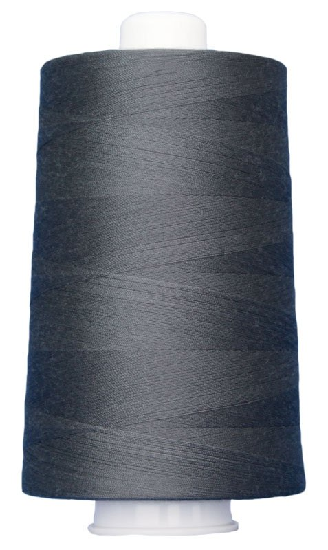 #3025 DARK GRAY Omni Thread. Poly-wrapped poly core. 6000 yds.