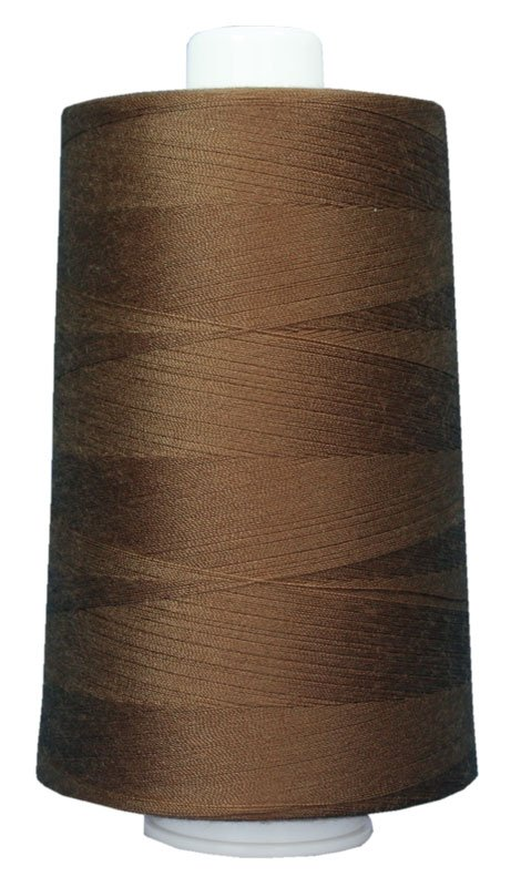 #3029 MILK CHOCOLATE Omni Thread. Poly-wrapped poly core. 6000 yds.