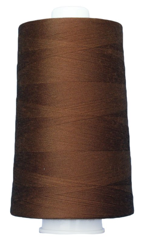 #3030 MEDIUM BROWN Omni Thread. Poly-wrapped poly core. 6000 yds.