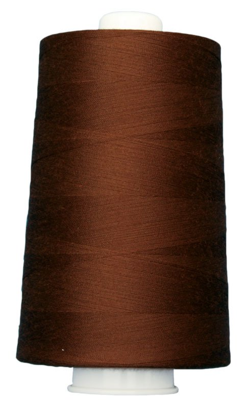 #3032 MOHOGANY Omni Thread. Poly-wrapped poly core. 6000 yds.