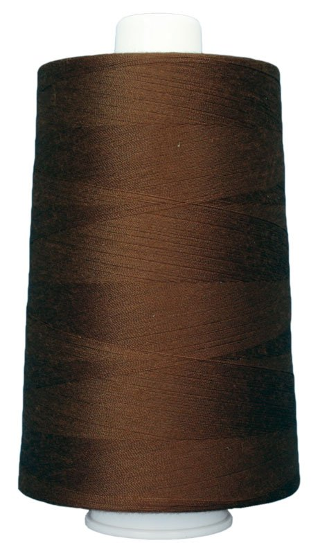 #3033 ROOT BEER Omni Thread. Poly-wrapped poly core. 6000 yds.