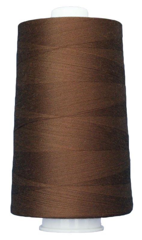 #3034 BROWNSTONE Omni Thread. Poly-wrapped poly core. 6000 yds.