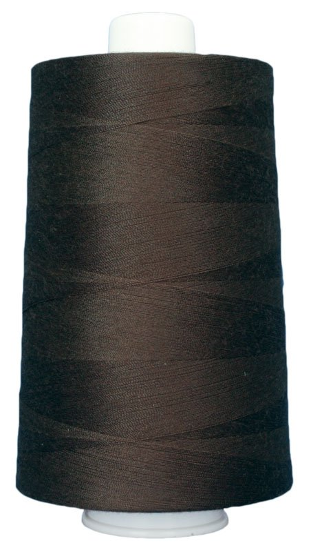 #3037 MOLASSES Omni Thread. Poly-wrapped poly core. 6000 yds.