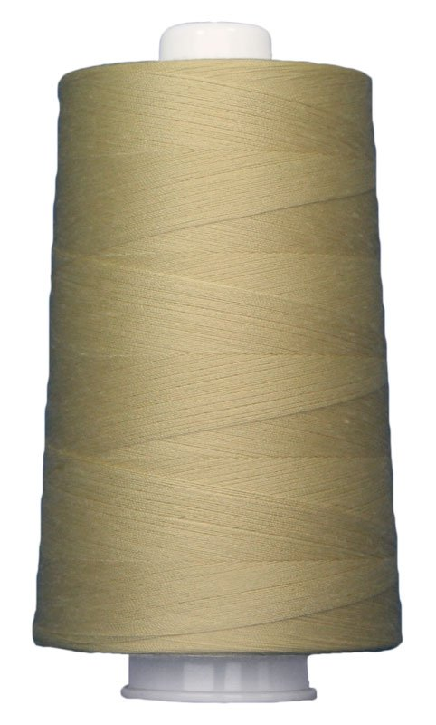 #3039 LEMON CREAM Omni Thread. Poly-wrapped poly core. 6000 yds.