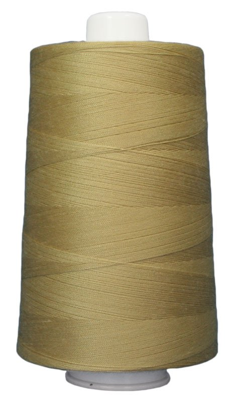 #3040 COOKIE DOUGH Omni Thread. Poly-wrapped poly core. 6000 yds.