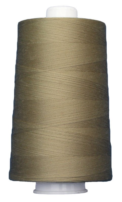 #3041 FLAX Omni Thread. Poly-wrapped poly core. 6000 yds.