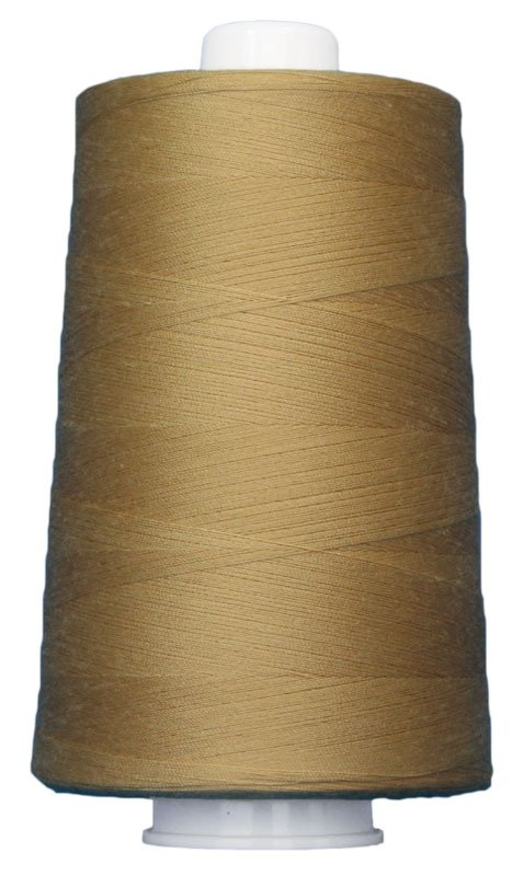 #3043 BARLEY Omni Thread. Poly-wrapped poly core. 6000 yds.