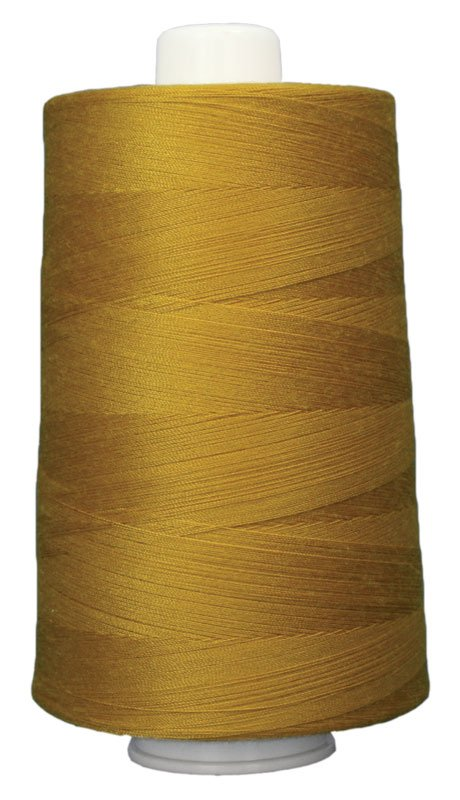 #3044 GOLDENROD Omni Thread. Poly-wrapped poly core. 6000 yds.
