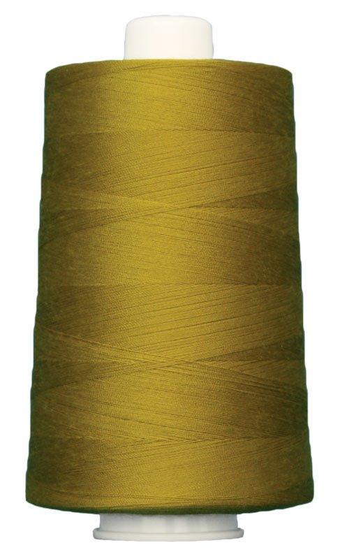 #3045 GOTHIC GOLD Omni Thread. Poly-wrapped poly core. 6000 yds.