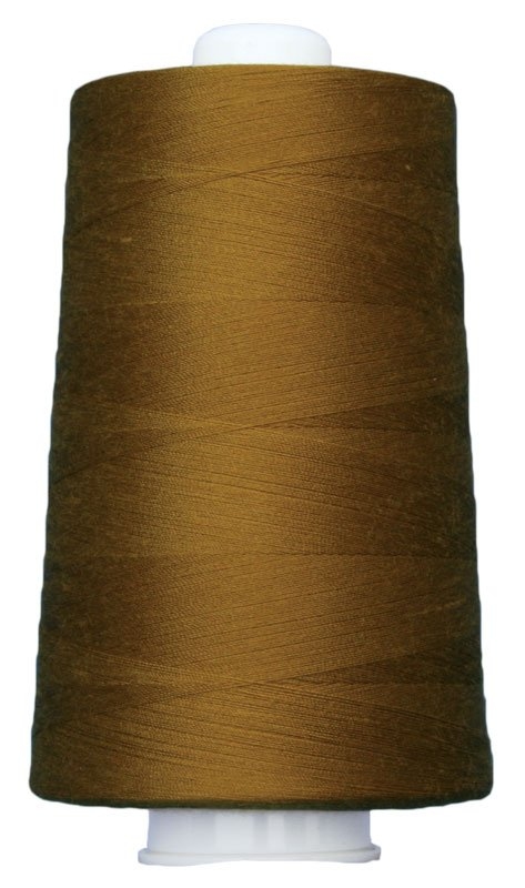 #3046 ANTIQUE GOLD Omni Thread. Poly-wrapped poly core. 6000 yds.