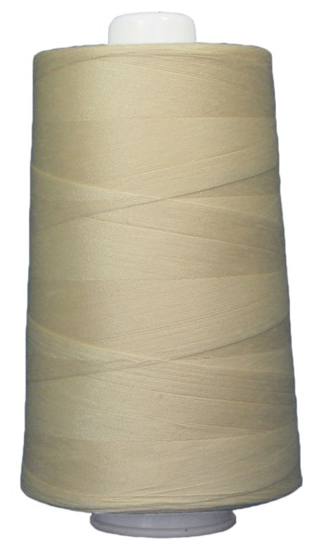 #3048 BUTTER Omni Thread. Poly-wrapped poly core. 6000 yds.