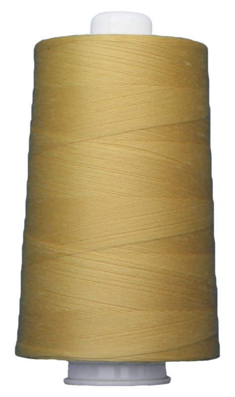#3051 BANANA Omni Thread. Poly-wrapped poly core. 6000 yds.