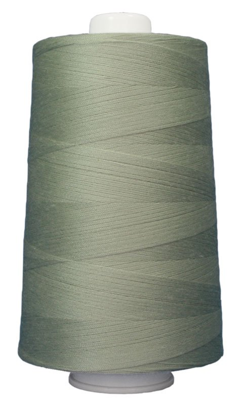 #3060 WHISPER GREEN Omni Thread. Poly-wrapped poly core. 6000 yds. - copy