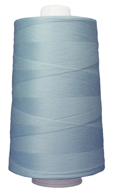 #3087 BLUE ICE Omni Thread. Poly-wrapped poly core. 6000 yds.