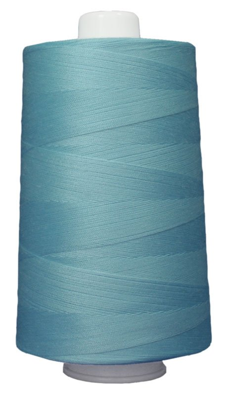 #3089 LIGHT TURQUOISE Omni Thread. Poly-wrapped poly core. 6000 yds.